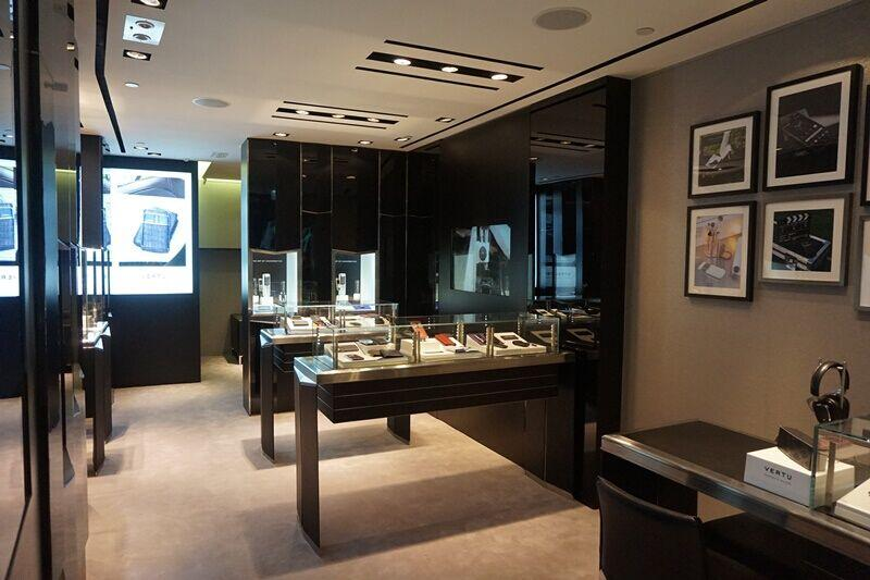 Modification Vertu Shop@Ocean Terminal,Hong Kong